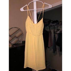Forever 21 spaghetti strap lace back mini dress